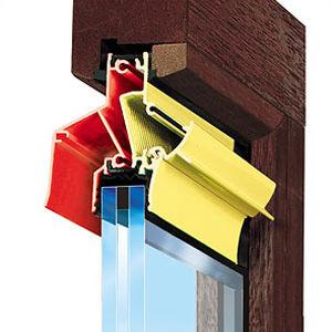 wasserdichter Fensterlüfter / mit Wärmedämmung