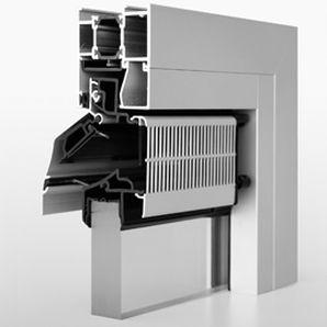 Akustik-Fensterlüfter / selbstregulierend / mit Wärmedämmung