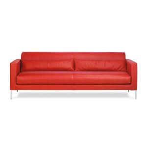 modernes Sofa / Stoff / Leder / Objektmöbel