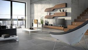 Innenraum-Fliesen / Wohnzimmer / Boden / Feinsteinzeug