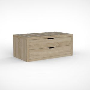 moderne Kommode / Holz / modulierbar / Contract