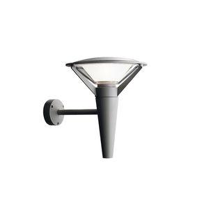 moderne Wandleuchte / Außenbereich / Aluminium / Polycarbonat