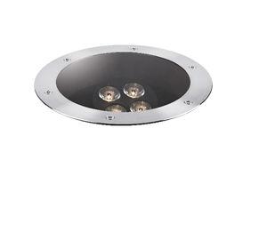 Leuchte für Bodeneinbau / LED / rund / Außenbereich