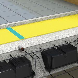 Elastische Trittschalldämmung / in Rollenform / Polyethylen / isolierend