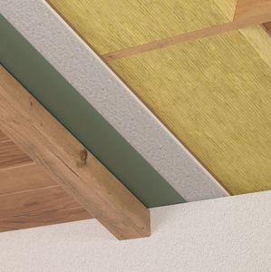 thermo-akustische Isolierung / aus Holzfaser / für Dächer / in Plattenform