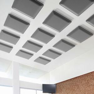 Schallschluckplatte für Innenausbau / wandmontiert / für Decken / Trevira CS®