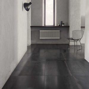 Innenraum-Fliesen / für Böden / Metall / rechteckig