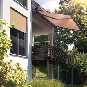 Vertikal-Rollos / Leinen / Außenbereich / motorisiert