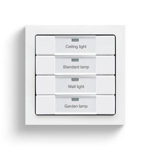 Lichtdimmer / Drucktaster / fernbedient / Einbau
