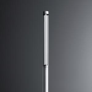 moderne Leuchtsäule / Aluminium / LED / Straßen