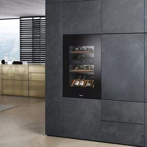 Einbau-Weinkühlschrank / Metall / elektrisch
