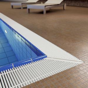Kunststoffrost / Schwimmbad