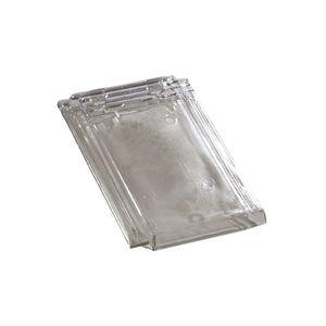 Falzdachziegel / aus Glas / transparent