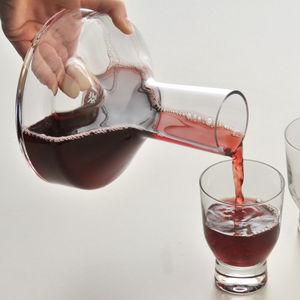Glas-Dekantierkaraffe