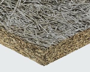 thermische Isolierung / thermo-akustisch / aus Holzwolle / aus zementgebundener Holzwolle