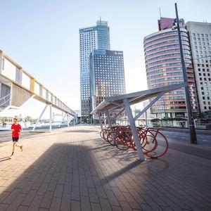 Stahl-Fahrradüberdachung