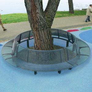 Stahl-Baumschutz
