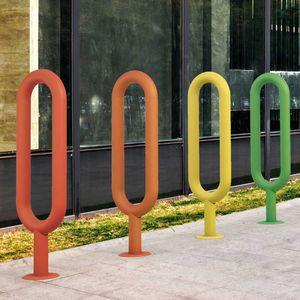 Fahrradständer / verzinkter Stahl / Edelstahl / originelles Design / für öffentliche Bereiche