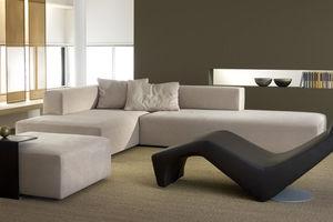 Modulsofa / modern / aus Polyesterfasern / Objektmöbel
