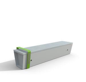 vernetzte Bank / Park / modern / Holz