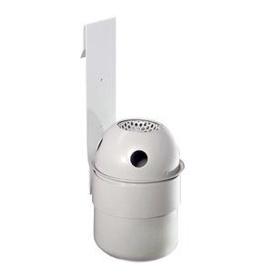 wandmontierter Ascher / verzinkter Stahl / für den Außenbereich / für öffentliche Bereiche