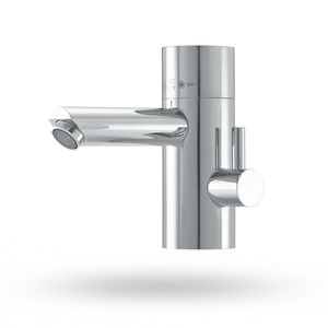 Einhebelmischer für Waschtisch / Messing / thermostatisch / Badezimmer