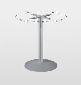 Gusseisen-Fußgestell / modern / für Stehtisch / Objektmöbel