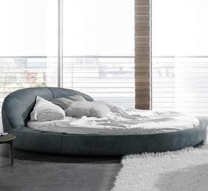 rundes Bett