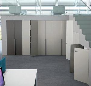 Schrank-Trennwand / für Büro