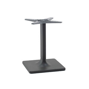 Fußgestell / extrudiertes Aluminium / modern / für Stehtisch / für Couchtisch