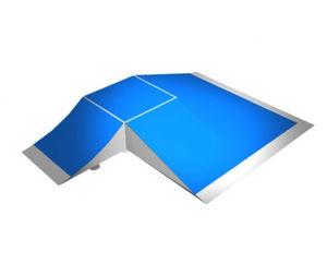 Halbpyramide für Skateparks