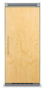 Kühl Gefrierschrank / mit integriertem Gefrierfach / für Privatgebrauch / Schrank / Holz