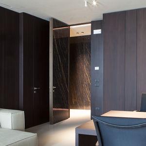 Tür für Innenbereich / einflügelig / Einbaukasten / Keramik