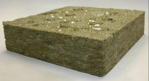 Schalldämmungs-Isolierung / aus Mineralwolle / Innenbereich / steife Platten