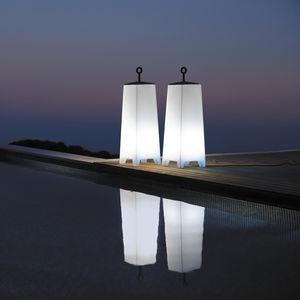 moderne Leuchtsäule