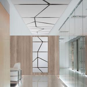 Akustikplatte für Innenausbau / für Decken / wandmontiert / Polyester