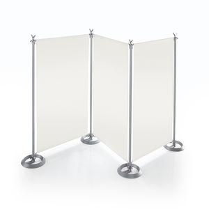 Metall-Raumteiler