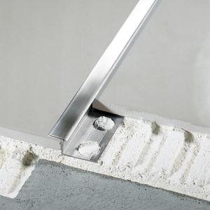 Aluminium-Trennprofil / Messing / Edelstahl / für Außeneckprofil