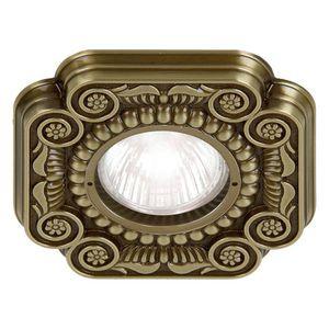 Einbaudownlight / LED / andere Formen / Messing