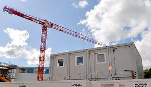 Containeranlage für industrielle Nutzung