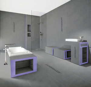 thermische Isolierung / aus XPS / zur Wanddickenmessung / Innenbereich