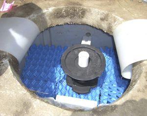 Wasser-Kleinkläranlage