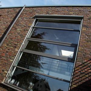 Aluminium-Fensterprofil / wärmeisoliert / Akustik / einbruchsicher