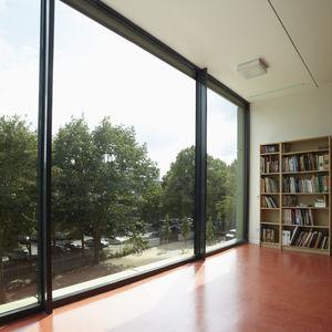 Aluminium-Fensterprofil / mit Wärmedämmung / Akustik / einbruchsicher
