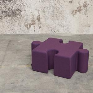 moderner Sitzpuff / Stoff / quadratisch / für Kinder (Unisex)