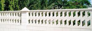 Beton-Balustrade / Platten / Außenbereich / für Balkon