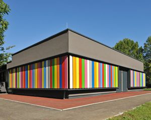 Fertigbau-Gebäude / Holz / Massivholz / für Kindergarten