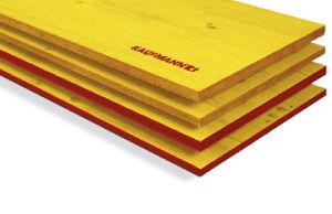 Holzplatte für Schalung