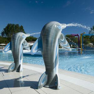 Springbrunnen für Aquapark