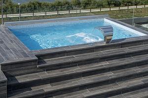 erdverlegtes Schwimmbecken / aus expandiertem Polystyrol EPS / Außenbereich